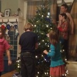 decorating tree